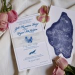 Mackinac Island Invitation and Map