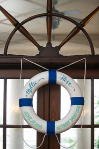 Nautical Wedding Sign Floatation Device