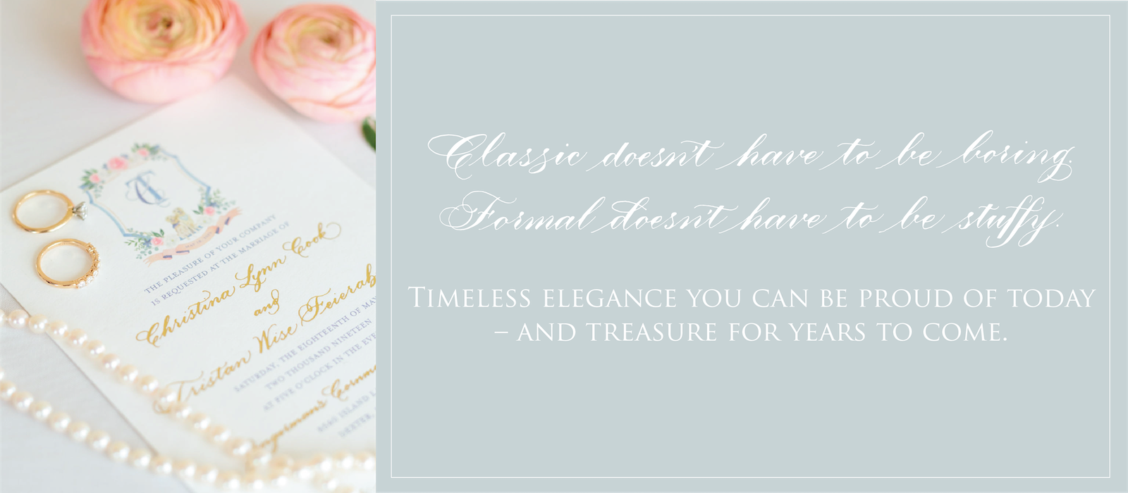 Classic doesn't have to be boring - Leah E. Moss Designs
