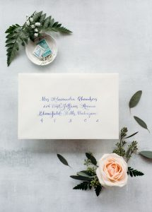 The Alex: Calligraphy Styles I offer - Leah E. Moss Designs