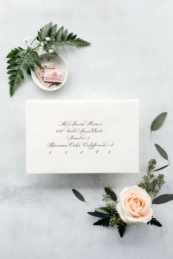 The Laura: Calligraphy Styles I offer - Leah E. Moss Designs
