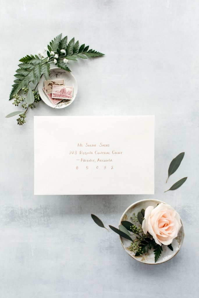 The Sarah: Calligraphy Styles I offer - Leah E. Moss Designs