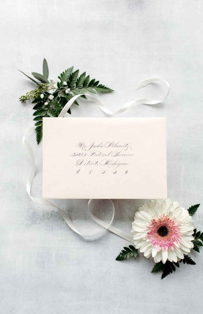 The Jackie: Calligraphy Styles I offer - Leah E. Moss Designs
