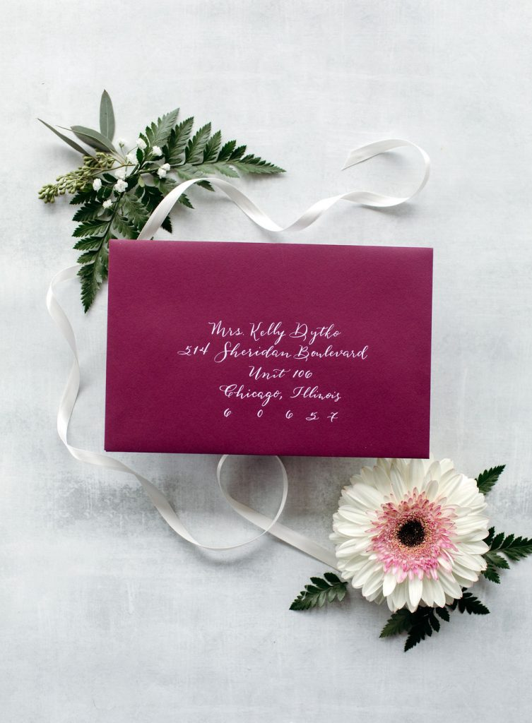 The Kelly: Calligraphy Styles I offer - Leah E. Moss Designs