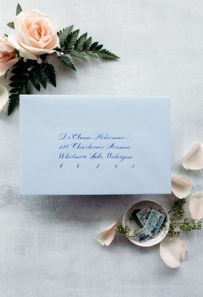 The Elana: Calligraphy Styles I offer - Leah E. Moss Designs