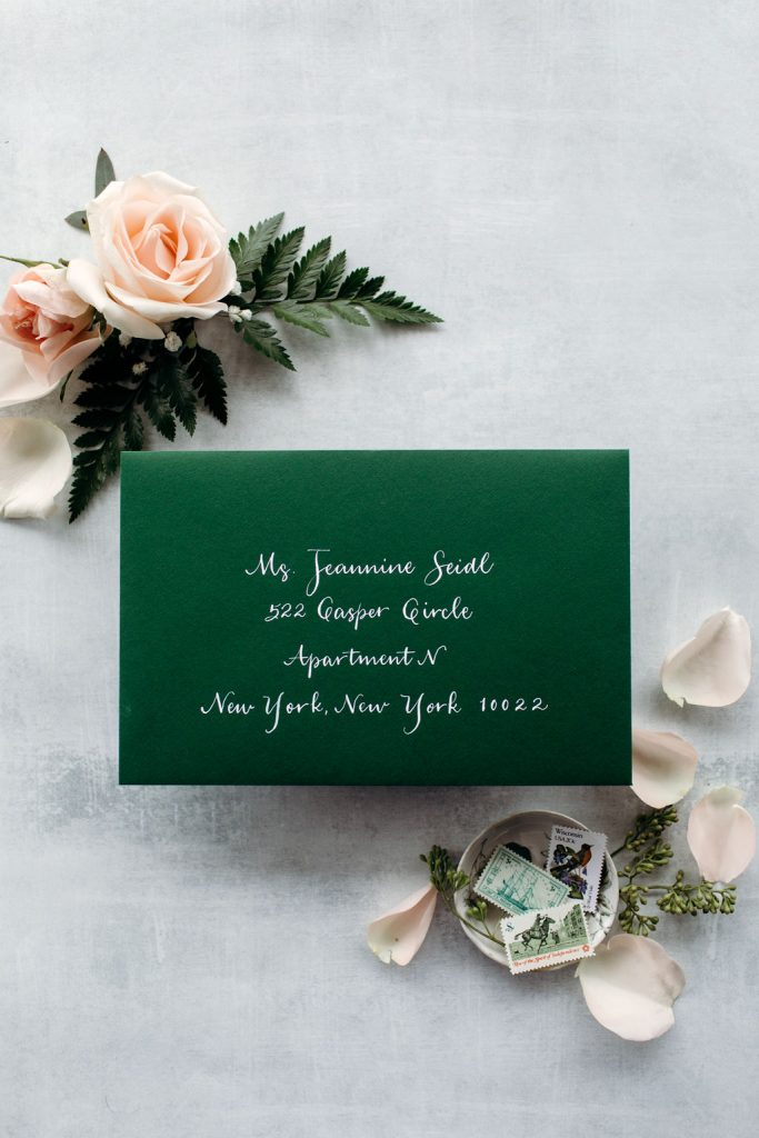 The Jeannine: Calligraphy Styles I offer - Leah E. Moss Designs
