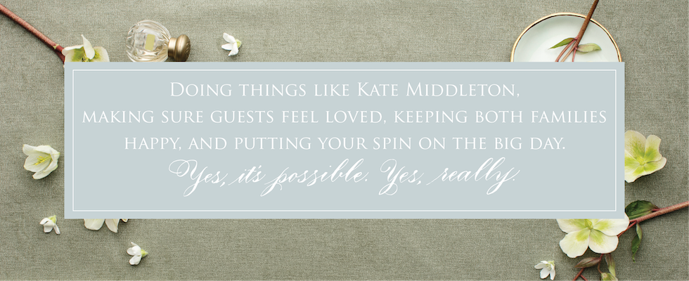Doing things like Kate Middleton - Leah E. Moss Designs, Michigan calligrapher and invitations designer