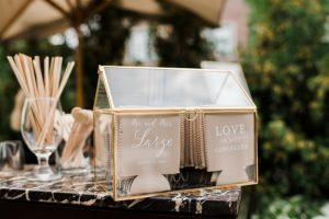 custom wedding koozies